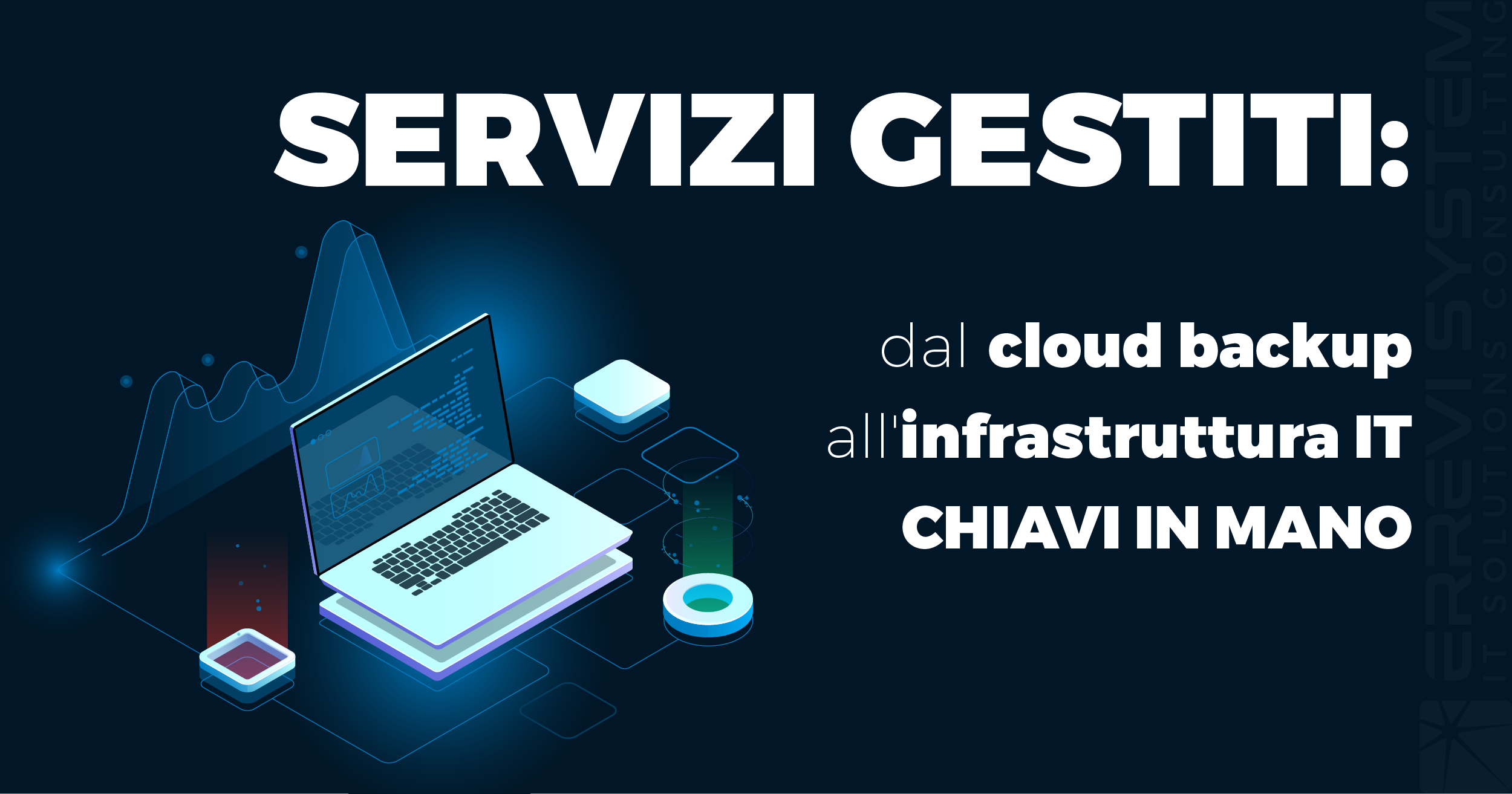 Servizi cloud e gestiti: dal cloud backup all'infrastruttura IT chiavi in mano